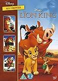 The Lion King 1-3 Boxset (Dvd Import) (European Format - Region 2) (Non Us Format)