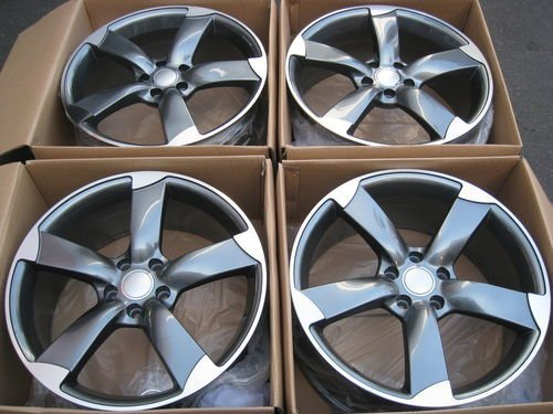 Amazoncom Wheels For Audi A A A Q VW EOS Rabbit Passat New - Audi rims