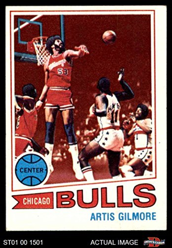 big sale 01c0b 4e6a7 Amazon.com: 1977 Topps # 115 Artis Gilmore Chicago Bulls ...