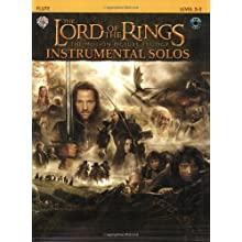 Lord of the Rings Instrumental Solos: Flute (Book & CD) (The Lord of the Rings; the Motion Picture Trilogy)