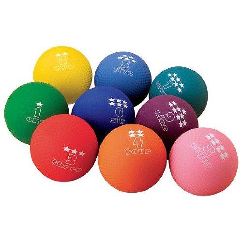 - Numbered Playground Ball Set