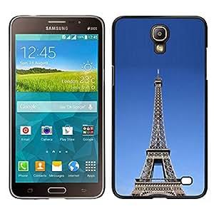 EJOY---Cubierta de la caja de protección para la piel dura ** Samsung Galaxy Mega 2 ** --Arquitectura La torre Eiffel tour