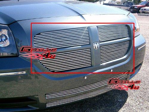 APS Fits 2005-2007 Dodge Magnum Main Upper Billet Grille Insert #D85037A ()