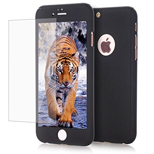Slim Fit Hybrid Case for Apple iPhone 6/6s (Gold/Black) - 4