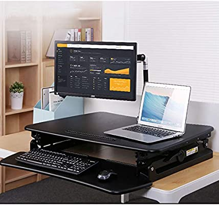 Soporte para Laptop Ajustable/con Bandeja para Teclado, diseño ...