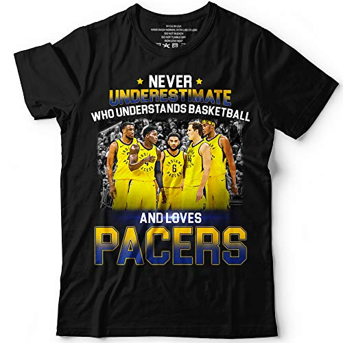 Pacers Never Underestimate Basketball Loves Roster Change Team Customized Handmade T-Shirt Hoodie/Long Sleeve/Tank Top/Sweatshirt (Mens Fieldhouse Tee)