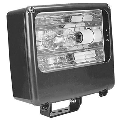 Lithonia Lighting TFL 400M RA2 TB SCWA LPI 400W Metal Halide Medium Floodlight, Dark Bronze