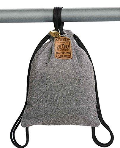 LOCTOTE Flak Sack - The Original Theft-Resistant Drawstring Backpack | Anti-theft | Theft-Proof Travel Backpack | Lockable | Slash-Resistant by LOCTOTE (Image #2)