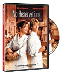 No Reservations (DVD) (FS/WS)Academy Award winner Catherine Zeta-Jones (Chicago) teams with Academy Award-nominated director Scott Hicks (Shine) for this remake of the 2001 smash-hit German comedy Bella Martha about a frosty, workaholic, perfectionis...