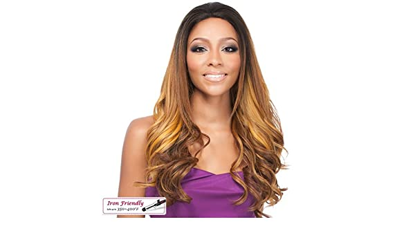 Amazon.com : Its A Wig Synthetic Lace Front Wig Nabila Tapia Queen Collection Lace Queen Eugenie (1B) : Beauty