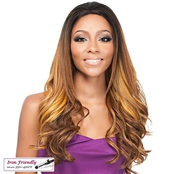 Its A Wig Synthetic Lace Front Wig Nabila Tapia Queen Collection Lace Queen Eugenie (1B