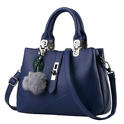 Diagonal Paquete 29 13 Hombro Ocio El De Comercio Exterior para Un Pink Coreanas Bolsas Handbags Blue2 Explosion Solo De 21cm YXLONG Ladies qIwyHtxUHp