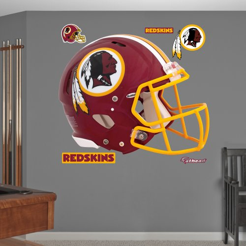 NFL Washington Redskins Helmet Wall (Washington Redskins Nfl Wall)