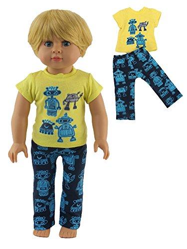 Robot Pajamas | Fits 18