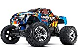 Traxxas Stampede 1 10 Scale 2WD Monster Truck with TQ 2.4GHz Radio - Rock N' Roll