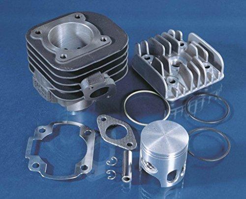 Polini 166.0076 - P1660076 - 70cc Contessa Cast Iron Big Bore Kit for the Horizontal 2 stoke Yamaha Zuma (Thumb Carb Kit)