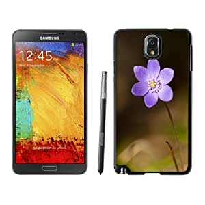 Beautiful Custom Designed Samsung Galaxy Note 3 N900A N900V N900P N900T Phone Case For Purple Flower Phone Case Cover
