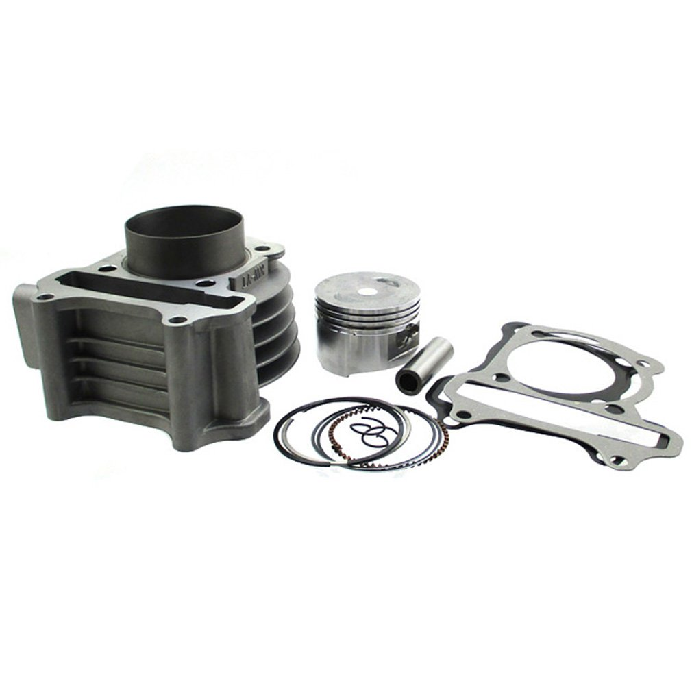 TC-Motor 100cc Big Bore 50mm Cylinder Kit For 139QMB GY6 50cc 80cc Moped Scooter Quad ATV