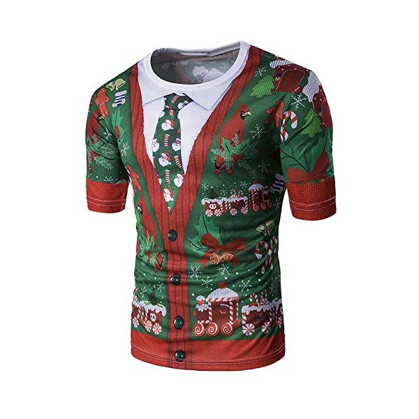 100% high quality entire collection best sell LINSINCH Hommes Pull Sweat à Capuche Shirt Créatif Festival de Impression  Unisexe Costume de Noël T-Shirts Shirt Drôle Manches Courtes T-Shirt ...