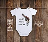 Funny You Bet Giraffe I Love You Baby Bodysuit For Animal Safari & Zoo