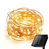 Solar Powered String Light, MECO Fairy Lights LED Starry String Lights Waterproof Copper Wire Lights...