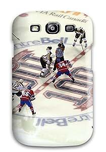 High Grade DanRobertse Flexible Tpu Case For Galaxy S3 - Montreal Canadiens (54)_jpg