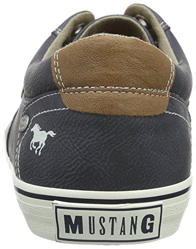 4103 dunkelblau Mustang Homme 800 Baskets Bleu Basses 302 0SqdS