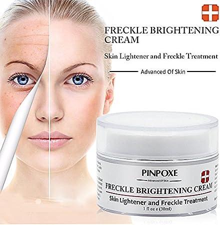Whitening Cream, Anti Manchas Cara, Anti Manchas Piel, Crema blanqueadora, Tratamiento Antienvejecimiento y Blanqueador para Manchas Oscuras, Cicatrices y Arrugas del Acné, 30ml