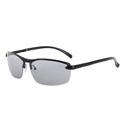 5b7fb094b2 Mens Driving Glasses Polarised Sunglasses Photochromic Lens Mens Womens  UV400 Protection  Amazon.co.uk  Clothing