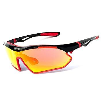 Festnight Lunettes de Soleil pour Vélo UV400 Protection pour Sports Conduite Golf Motocyclisme Pêche Patinage Ski Voyager FooCpcek