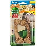 Nylabone Healthy Edibles Puppy Chew Treats, Turkey, Medium, 2 Count