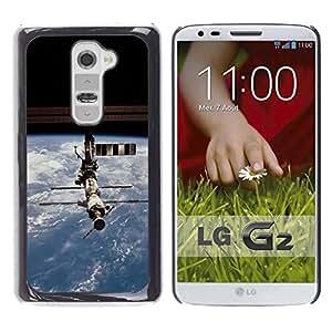 Be Good Phone Accessory // Dura Cáscara cubierta Protectora Caso Carcasa Funda de Protección para LG G2 D800 D802 D802TA D803 VS980 LS980 // Iss Space Station