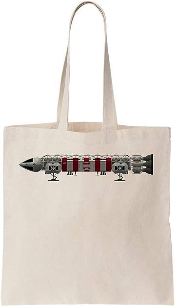 Space Eagle 1999 Retro TV Show Algodón Bag Tote Bag: Amazon.es ...