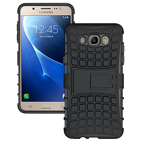 super popular 463e1 e3118 Zokney Samsung Galaxy J7 2016 Back Cover Dual Layer Protection Rugged Armor  Case For Galaxy J7 2016 Cover Pouch With Stand Feature