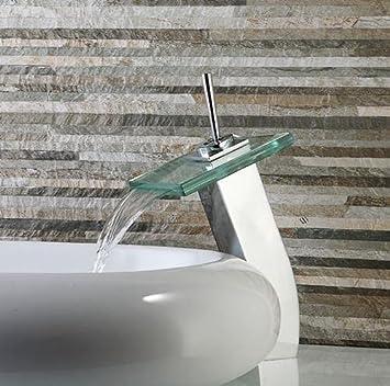Tourmeler Moderne Badezimmer Armatur Square Hohen Auswurfkrummer