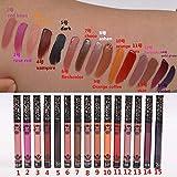 Matte Liquid Lipstick Set, Spdoo 15 Colors Long