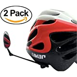Bike Mirror For Helmet - Adjustable Helmet Mirror With Crystal Clear View - From Life On Bicycle