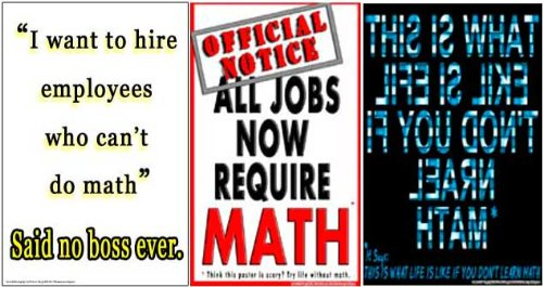 - Poster #S2 Set of Motivational Math Posters for Math Classrooms Effectively Motivate Students