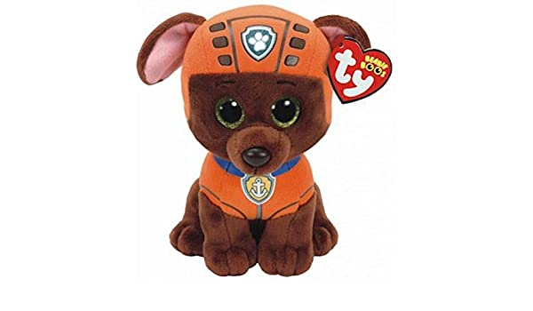 Amazon.com: TY Licensed Beanie - Paw Patrol - ZUMA , Perfect Plush!: Toys & Games
