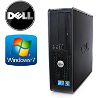 Dell Optiplex 745 SFF   Desktop Computer (Intel Core Duo Processor 1.86GHz, 4GB DDR2 Memory, 80GB HDD, DVDRW, Windows 10 Home) (Certified Refurbished)