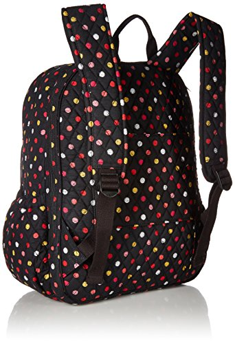 Women's Campus Tech Backpack, Signature Cotton, Havana Dots