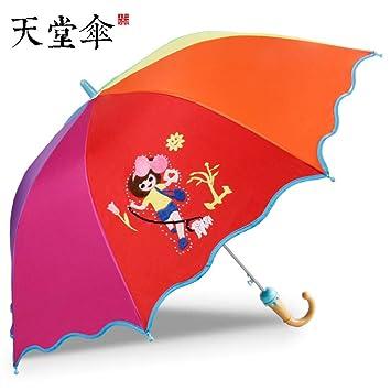 Paraguas para niños, colegialas, paraguas, protector solar ...