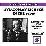 Sviatoslav Richter in the 50's, Vol. 5: Szymanovski, Mozart, Schubert, Liszt