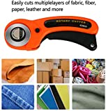 45mm Rotary Cutter Manual Sewing with 6 Pcs 45mm