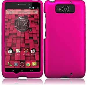 Motorola Droid Maxx XT-1080M / Droid Ultra XT-1080 ( Verizon ) Phone Case Accessory Delicate Pink Hard Snap On Cover with Free Gift Aplus Pouch