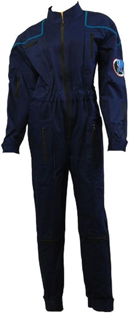 Daiendi Star Trek Enterprise deber Mono uniforme disfraz UE azul ...