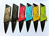Credit Card Sized Folding Wallet Knife- This Is the Perfect Pocket or Survival Tool, andIts Cool, Portable, Practical, and Lightweight with a.