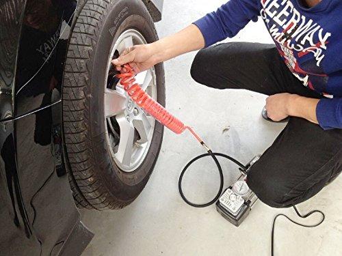 ZS ZAISHANG 12V 30l//min 140W MINI LUFTKOMPRESSOR Einzelzylinder Luftpumpe Auto angefahren Luftpumpe