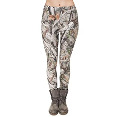 Pantalones De Yoga Marca Ramas Camuflaje Impresión Moda De ...