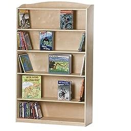 Guidecraft G97014 SingleSided Kids Bookcase